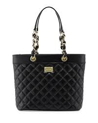Black Quilted Leather Handbag | Neiman Marcus & Quick Look Adamdwight.com