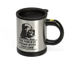 office coffee cups. Star Wars Darth Vader Black Knight Automatic Mixing Coffee Cups Stainless Steel Thermos Office Mug Funny Gift Spy Cup-in Mugs From Home \u0026 Garden On E