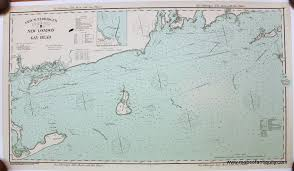 Chart B New London To Gay Head Reproduction Antique Maps