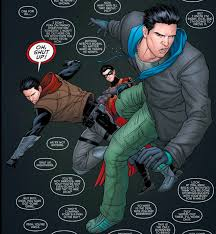 Of Bats And Birds — Dick Grayson – the Bat family punching bag