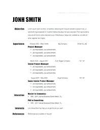Resume Format Examples For Students Resume Format Sample Free Simple ...