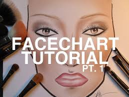 Tutorial Face Chart Pt 1 Shading The Skin
