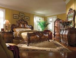 palais royale king 6 piece traditional bedroom furniture set michael amini aico