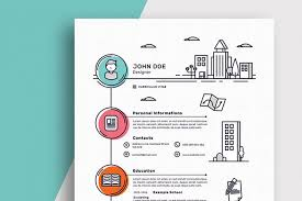 Best Resume Templates Enchanting 40 Best CV Resume Templates Of 40 Design Shack