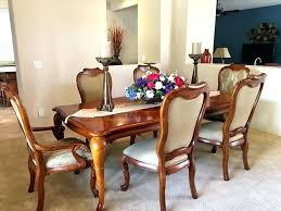 dining room set used thomasville chairs sets 1970