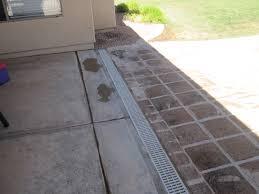 Channel Drain - Exterior drain pipe