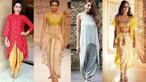 Ladies Lungi Designs Dhoti Style Kurti Images Dhoti Salwar Kurti Collection Pant Salwar Design Ideas