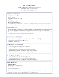 resume for students format 10 curriculum vitae example for fresh graduate theorynpractice