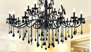 large black chandelier on home remodeling ideas with decoration big earrings
