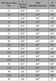 Mens Footwear Size Chart Mens Shoe Size Chart For Your Reference Kiddo Shelter