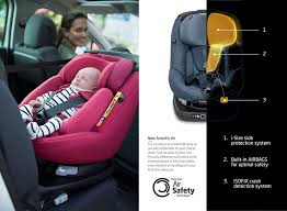 uae s first airbag child car seat cooperation roadsafetyuae and mamas papas
