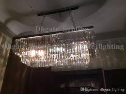 replica item industrial length 125cm 1920s odeon clear glass fringe
