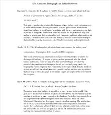 sample annotated bibliography apa   program format Iphone Clubs