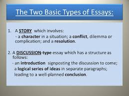 writing an essay three basic steps plan write check 3 the two basic types