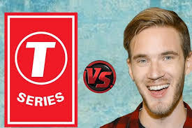 Image result for PewDiePie vs T-Series