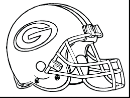 U Of M Football Coloring Pages Iamdriverinfo