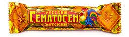 <b>Гематоген Русский детский</b>, плитка, <b>40</b> г, 1 шт. купить в Москве ...