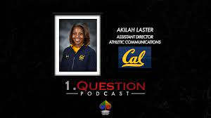 Akilah Laster | Assistant Director for Athletic Communications | Cal