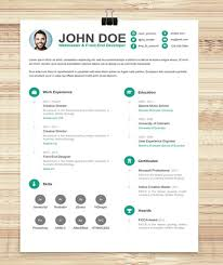 Free Fancy Resume Templates - Commily.com