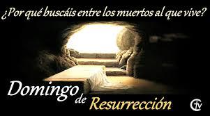 Resultado de imagen de domingo de resurrección
