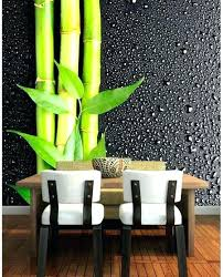 bamboo wall decor spectacular interior ideas art print for dining room diy bamboo canvas wall art
