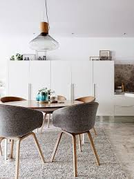 the round table is a smart choice for any decoration but the design of this table becomes more functional as a dining table they fit into the environment