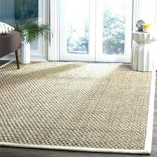 square jute rug 8 square rug casual natural fiber and ivory border foot te area square jute rug