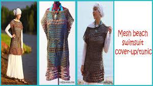 Crochet Swimsuit Cover Up Pattern Amazing Design