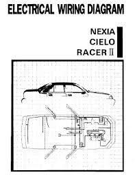 daewoo racer wiring diagram daewoo wiring diagrams daewoo cielo electrical