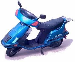 honda elite 125 150 motor scooter guide 1986 honda elite 150 satellite blue metallic
