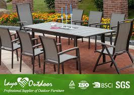 Maribella Modern Outdoor Dining Table  Eurway FurniturePowder Coated Outdoor Furniture