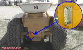 com cub cadet tractor information photo of 104 serial number