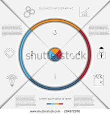 business process template infographic business process workflow template text stock vector