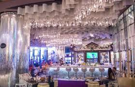 chandelier vegas luxury chandelier bar ideas cosmopolitan las vegas chandelier bar flower drink