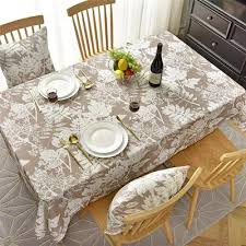 ly1212010012 fabric table cloth rustic