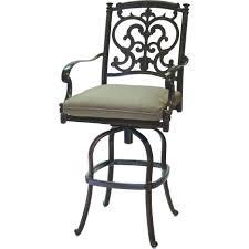 wrought iron swivel bar stools. Exellent Swivel Black Acrylic Base Swivel Bar Stool With Brown Canvas  For Wrought Iron Swivel Bar Stools I