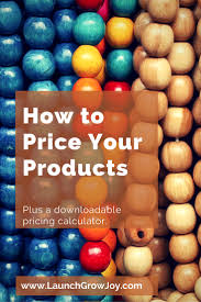 Shopping List Price Calculator How To Price Your Products With A Free Pricing Calculator