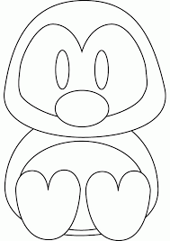 Instruct your kiddos to remember distinguishing marks on their favorite penguin and add it to your coloring sheet! 7 Pics Of Baby Penguin Coloring Pages Printable Cute Baby Coloring Home