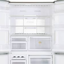 white french door refrigerator. MR-L650EH-ST-A Stainless Steel French Door Refrigerator White