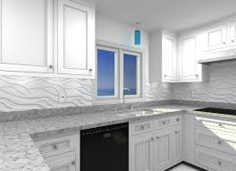 Kitchen : Beneficial And Interesting White Kitchen Wall Tile Idea ...