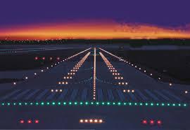 Aerodrome Lighting Airport Lights Charles De Gaulle International Airport