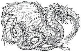 Coloring Pages Boys Complicated Dragon Coloring Pages For Boys