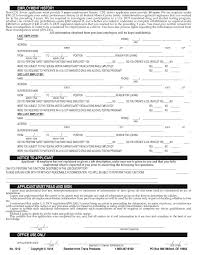 Driver Employment – For No Application 1012