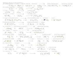 balancing equations worksheet activity sheet pack