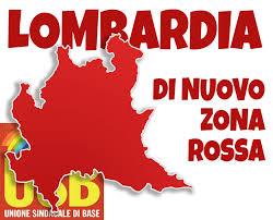 USB Pubblico Impiego - Agenzie Fiscali: Lombardia - Entrate, Dal 17 gennaio  Lombardia di nuovo in zona rossa