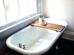 wine holder for bathtub bathtub reading tray org amusing bathroom wood wooden bathroom with post wine holder for bathtub