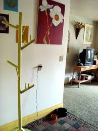 Homemade Coat Rack Tree DIY Coat Rack The Family Chapters 48