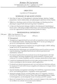 Summary Section Of Resume Examples Experience Summary In Resume