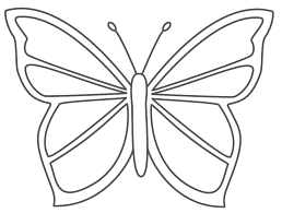 Coloring Pages Butterfly Butterfly Coloring Pages For Toddlers