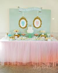 Twin Boy And Girl Baby Shower Themes #3039